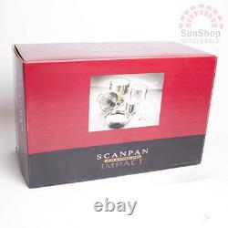 100% Genuine! SCANPAN Impact 18/10 S/S 5 Piece Cookware Set! RRP $549.00