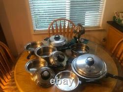 12 Pc Americraft Waterless Cookware