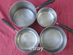 21 Piece Revere Ware Stainless Steel Copper Bottom Cookware Set