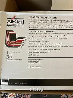 All-Clad 600731 Copper Core 5-Ply Bonded Cookware, Brand New SEALED(opened Box)