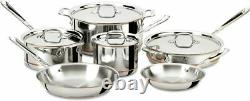 All-Clad 600822 Copper Core 5-Ply Bonded Cookware, Brand New SEALED