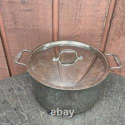All-Clad 8-Quart Cookware Stainless Steel Stockpot With Lid (A)