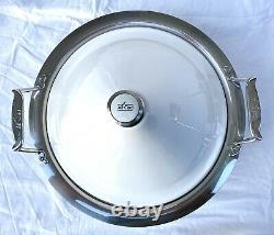 All Clad Moroccan Stainless Steel White Terra Cotta Tagine Pot Cookware Retired