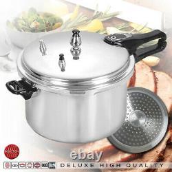 Aluminium Pressure Cooker Home Kitchen Cookware Catering 3L 5L 7L
