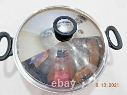 Amway Queen 12 Wok Stainless Steel Waterless Cookware