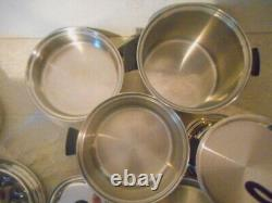 Amway Queen 18-8 Stainless Steel Cookware