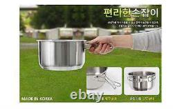 Camping Outdoor Cookware Cook Set Cooking Set Stainless steel (for 78 People)