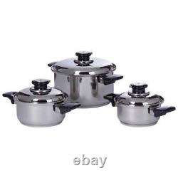 Chef's Secret 28pc 12-Element T304 Stainless Steel Waterless Cookware