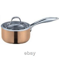 Fancy Cook 5-Ply Copper 6 Piece Cookware Set, Clearance Sale