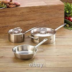 Fissler 5 Piece Original Profi Stainless Steel Cookware Set