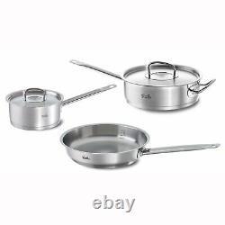 Fissler 5 pc Original Profi Stainless Steel Cookware Set