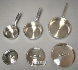 Henckels Skillet Saute Sauce Pan 18/10 Stainless Cookware Fry Kitchen Set VG