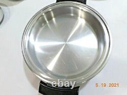 KITCHEN CRAFT Waterless Cookware T304 5Ply Multicore Stainless Electric Skillet
