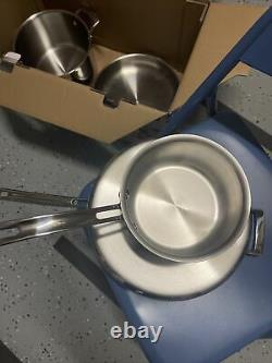 Kirkland Signature 10-piece 5-ply Clad Stainless Steel Cookware