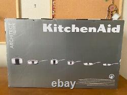 KitchenAid Stainless Steel 10-Piece Cookware Set