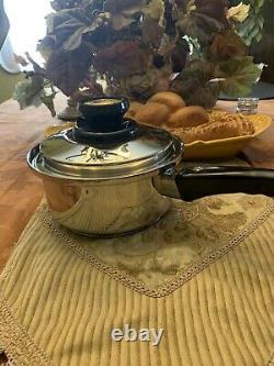 Kitchen Craft West Bend USA Waterless Stainless Cookware LOT Pot Pan 9 PCS SET