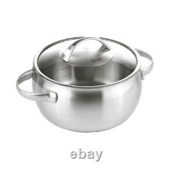 Kuhn Rikon Daily Cookware Pot Set 6P Stainless steel 18/10 16/20/24cm