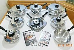 LUSTRE CRAFT AMERICRAFT Waterless Kitchen Craft Cookware Stainless Elec Skillet