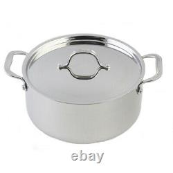 Le Chef 5-ply Stainless Steel 12 Piece Cookware Set. Super Sale