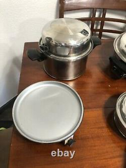 Lifetime T304cc Stainless 20 Pcs. Element Cookware Set + Electric Skillet