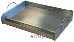 Little Griddle Removable Handles Outdoor Grill-Top Cookware Stainless Steel