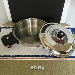 Maxam 9 ELEMENT World's Finest 7-Ply T304 Stainless Steel Cookware 21 pc HUGE