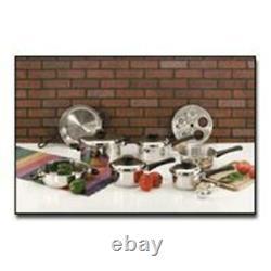 Maxam KT17 9-Element 17 piece Cookware Set