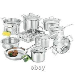 NEW Scanpan Impact Cookware Set 10pce