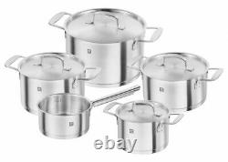 New ZWILLING Base Cookware 5 Piece Set Genuine