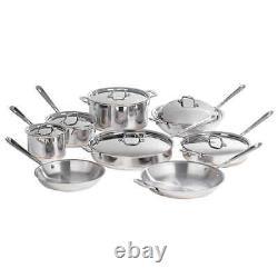New in Box All-Clad Copper Core 14-piece Cookware Set