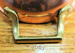 Paul Revere Ware USA Solid Copper Pot Oval Skillet Fry Fish Pan Bicentennial VTG