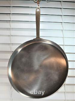 Paul Revere Ware USA Solid Copper Pot Signature Crepe Pan Griddle Skillet VTG