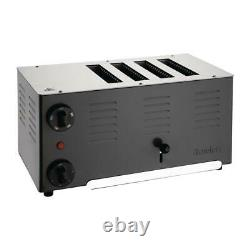 Rowlett Rutland Regent Slot Toaster Cookware Kitchen Appliance Stainless Steel