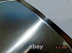 SALADMASTER 11 SQUARE GRIDDLE PAN 316Ti TITANIUM WATERLESS COOKWARE