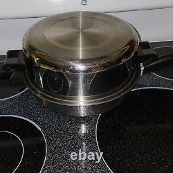 SALADMASTER 18-8 Tri-Clad Stainless Steel Cookware Set