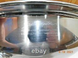 SALADMASTER 5 QT WOK 316Ti TITANIUM STAINLESS STEEL & LID Waterless Cookware