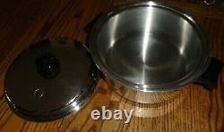 SALADMASTER Stainless Steel Waterless Cookware T304S with Vapo Lids SET OF 10