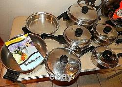 SALADMASTER T304S Stainless Steel Cookware Set + Electric Skillet