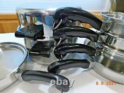 SALADMASTER T304S Surgical Stainless Steel Waterless Cookware Set