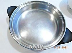 SALADMASTER TP304-316 Surgical Stainless Waterless Cookware Electric Skillet