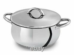 SILAMPOS Domus 17 Pieces Stainless Steel Cookware Set Made In Portugal