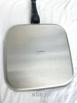 Saladmaster 316ti 11 Inch Griddle Waterless Cookware Titanium Stainless Steel