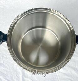 Saladmaster TP304 Surgical Stainless Steel 12 Qt Stock Pot Waterless Cookware