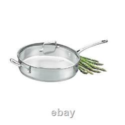 Scanpan Impact 5 Piece Cookware Set (22036) Stainless Steel / Brand New