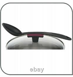 Tefal Cookware Set Cook & Clip 10 Pcs Saucepan Stewpots Stockpot Glass Lids Pots
