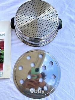 Townecraft Newest Edition Chefs Ware Cookware Huge Set T304 Stainless Steel 7Ply