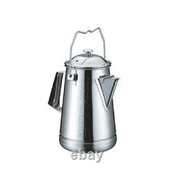 Uniflame Family Cookware Camp Stainless Steel Kettle 660287 Japan With Tracking