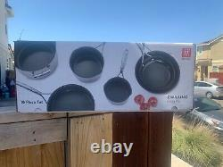 ZWILLING J. A. HENCKELS ENERGY PLUS 10 PC COOKWARE SET Nonstick STAINLESS+