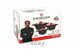 Zwieger OBSIDIAN 6 parts Cookware set Set NEW